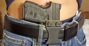 My First Ride With Appendix Carry, Part 1