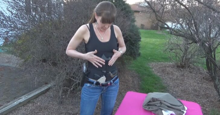 [VIDEO] Concealed Carry Holsters For Women – Walking Through A Few Different Options