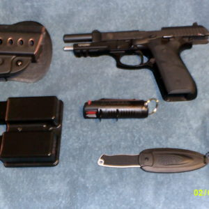 Taurus PT 92 AF Ruger Pepper Spray Neck Knife and 2 Pac…