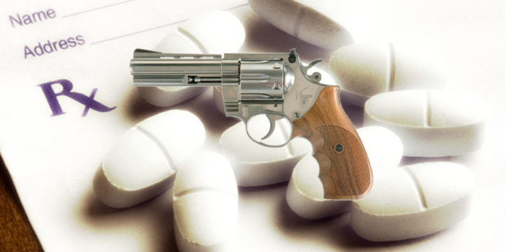 Guns and painkillers