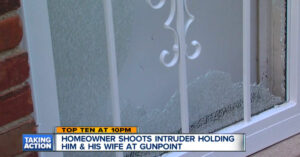Seconds From Apparent Death, Homeowner Finds Moment To Grab Gun And Shoot Armed Intruders