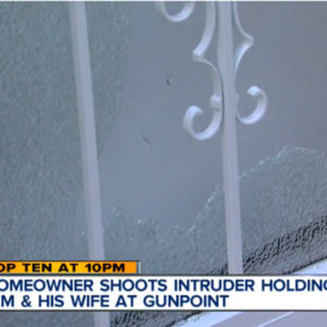 Homeowner defends his home from armed intruders