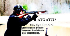 Armslist: We Don't Need Eye Protection When Shooting; Why They're In The Wrong