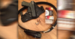 #DIGTHERIG – Nathan and his Glock 19 in a SteathGearUSA Holster