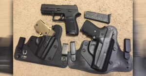 #DIGTHERIG – Andrew and his Sig Sauer P239 in an Alien Gear Holster
