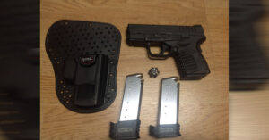 #DIGTHERIB – Bryce and his Springfield XDs in a Fobus IWB Holster