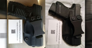 #DIGTHERIG – Anthony and his Springfield XDs 9mm and Glock 26 in an Urban Defender Tactical Holster