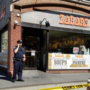 Homeless man shots himself waiting for a bagel nypd