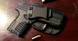 #DIGTHERIG – Jimmy and his Springfield XDs .45 in a Custom Made Kydex Holster