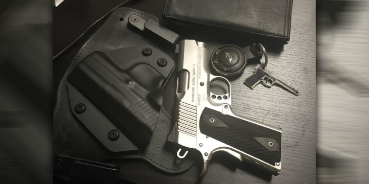 DIGTHERIG – Bill and his Kimber Ultra Carry II  45 in an Alien Gear