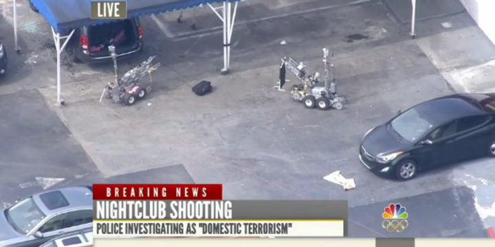 Orlando gay club shooting robots FBI domestic terrorism