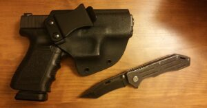 #DIGTHERIG – Derrick and his Glock 19 in a Wilder Tactical Shinobi Holster