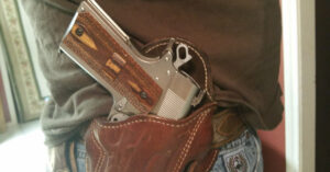 #DIGTHERIG – Daniel and his Springfield Champion 1911 in a Handmade Holster