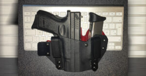 #DIGTHERIG – Robert and his Springfield XD40 in a T-Rex Holster