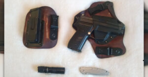 #DIGTHERIG – Steve and his Sig Sauer P229 in a CrossBreed Holster
