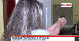 "Grandma Confronts Intruders With Gun, Wins: ""I Decided That It's Either Them Or Me"""