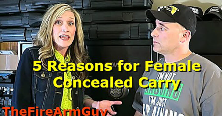 [VIDEO] 5 Reasons Why Women Should Carry A Gun