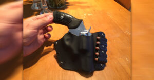 #DIGTHERIG – Christian and his Ruger SP101 in a Home-made Kydex Holster