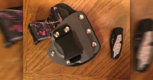 #DIGTHERIG – Kathy and her Ruger LCP in a Raw Dog Tactical Holster