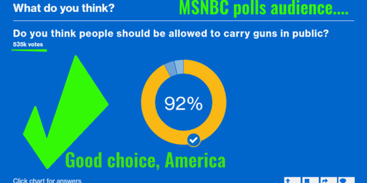 Msnbc public poll carry guns openly