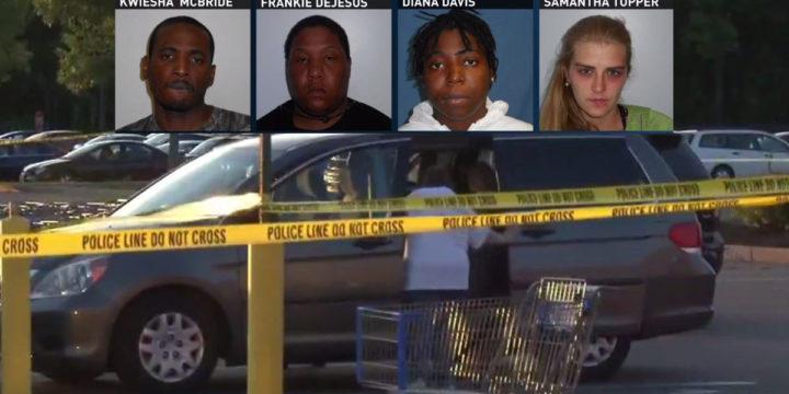 Walmart shootout bystanders stop shooting