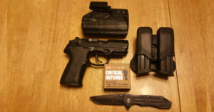 #DIGTHERIG – Dakota and his Beretta PX4 Storm Compact in a Clinger Holster