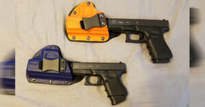 #DIGTHERIG – Martin and his Glock 27 and Glock 23 in Raw Dog Tactical Holsters