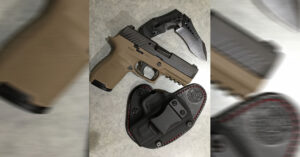 #DIGTHERIG – Mike and his Sig Sauer P320 in a Keyhole Holster