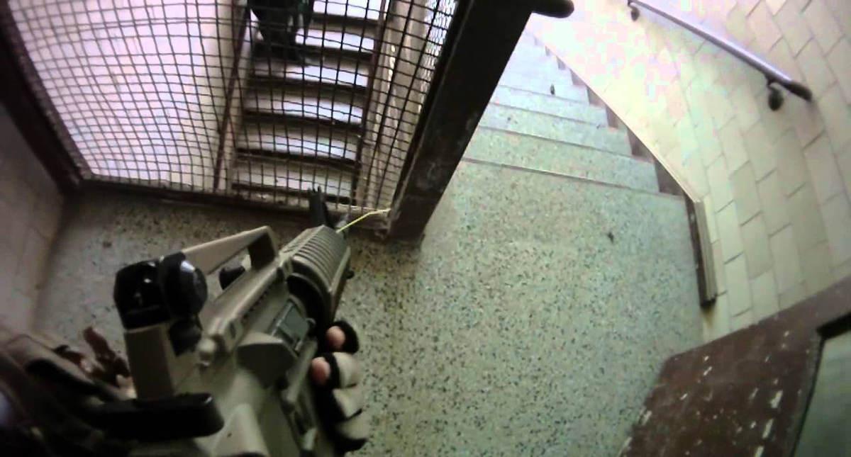 airsoft-stairwell
