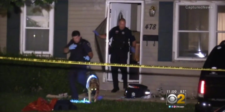 Chicago suburb stabbing homeowner