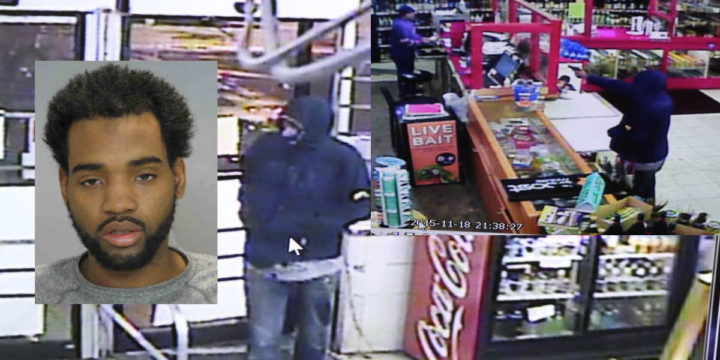 Clerk shoots robber