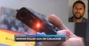 Would-be Car-jacker Picks Armed Female 'Victim'