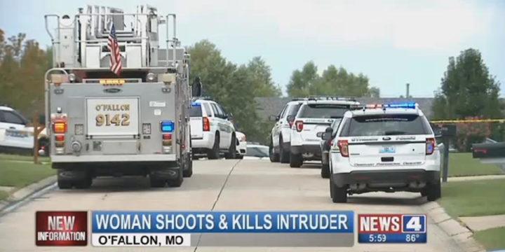 Murder witness shoots intruder