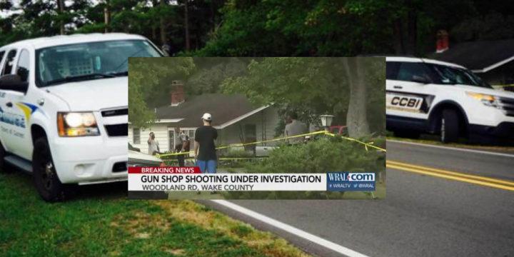 Raleigh gun shop attempted robbery