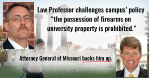 Missouri Attorney General: University's Ban On Concealed Firearms Unconstitutional