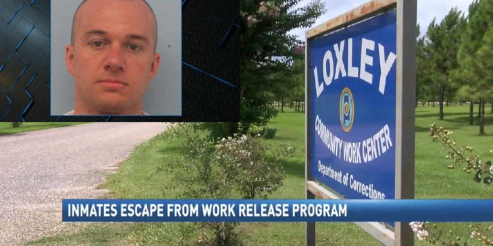 Work release program inmate captured