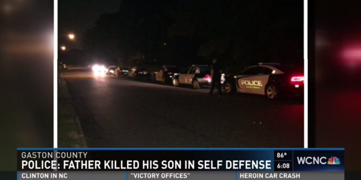 Gastonia shooting father son