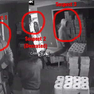 Daring Woman Rushes Three Armed Intruders — Here's The Video