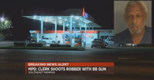"How Embarassing! Attempted Armed Robber Gets Shot In The Leg With BB Gun… ""You Lose! Good Day, Sir!"""