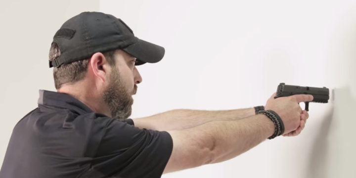 Wall drill concealed carry