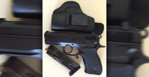 #DIGTHERIG – Alex and his CZ-75 P01 in a Custom Holster