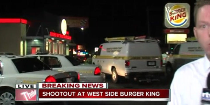 Burger king indianapolis armed robbery