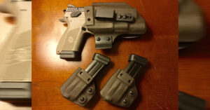 #DIGTHERIG – Tim and his CZ P-07 in a T. Rex Arms Holster… With Detailed Explanation!