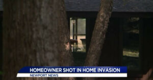 Homeowner Gets Shot In Leg During Home Invasion — Shoots Back And Sends Suspects Fleeing