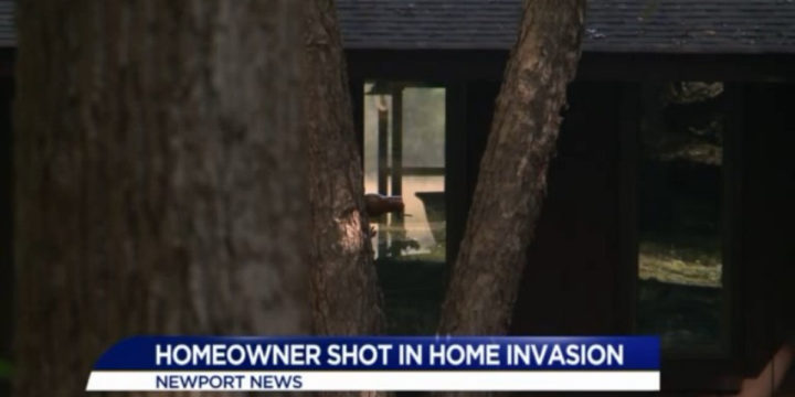 Newport news home invasion