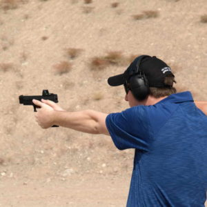 Springfield XDM 9mm shooting 300x300