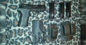 #DIGTHERIG – Ward and his Beretta PX4 in a Blackhawk Holster