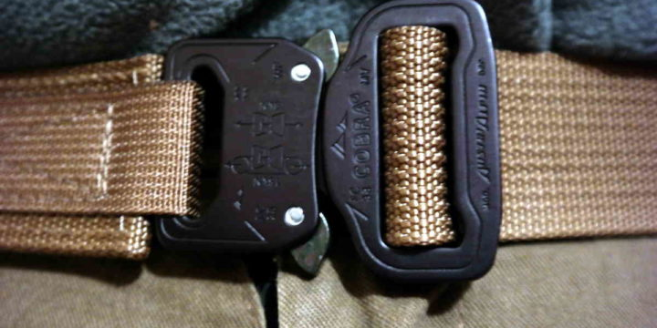 Blue Alpha Gear Cobra Buckle kickstarter