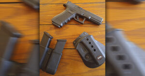 #DIGTHERIG – Chris and his Glock 17 in a Fobus Holster