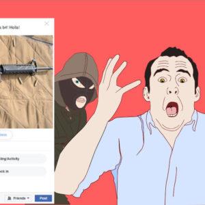 Bad ideas gun social media2